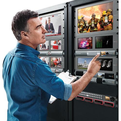 Blackmagic Design Smart Videohub 20 x 20 6G-SDI router VHUBSMART6G2020 3