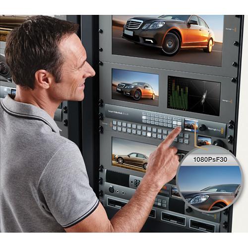 Blackmagic Design Smart Videohub 20 x 20 6G-SDI router VHUBSMART6G2020 4