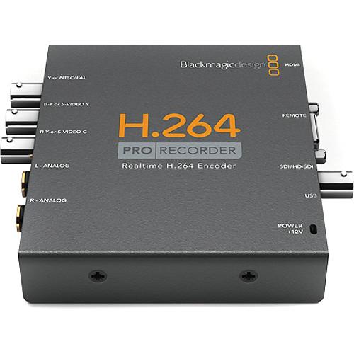 Blackmagic Design H.264 PRO Recorder placa captura extern [0]