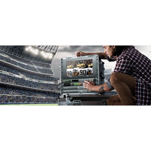 Blackmagic Design HyperDeck Studio 12G recorder redare video ssd broadcast profestional ProRes DNxHD productie HYPERD/ST/12G 1
