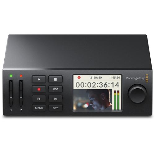 Blackmagic Design HyperDeck Studio Mini recorder broadcast captura deck 1