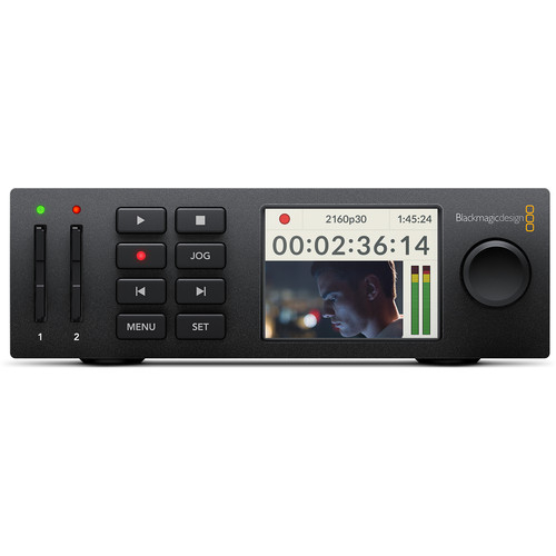 Blackmagic Design HyperDeck Studio Mini recorder broadcast captura deck 0