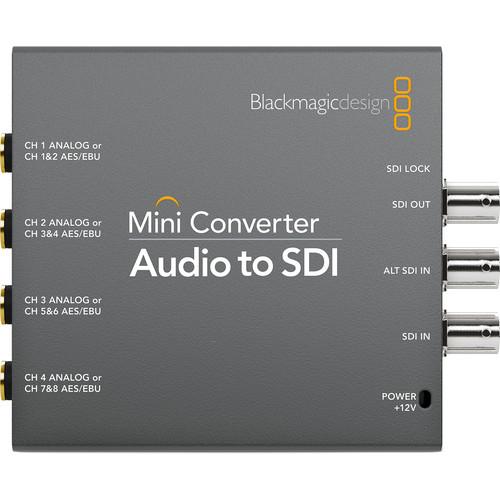 Blackmagic Design Mini Convertor Audio la SDI [1]