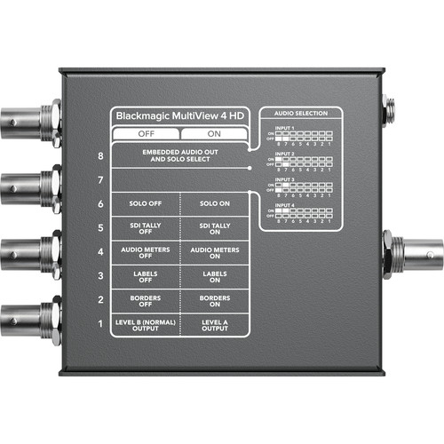 Blackmagic Design MultiView 4 HD [2]