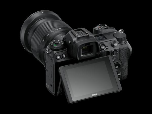 Kit Nikon Z6 Mirrorless 24.5MP + FTZ + Obiectiv Nikkor Z 24-70mm 12