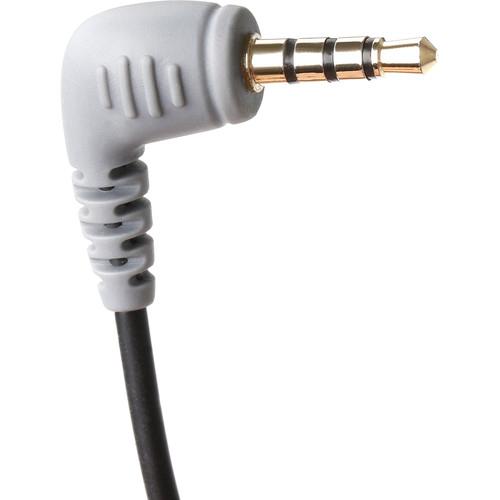 Cablu adaptor microfon TRS la TRRS pentru smartphone 2