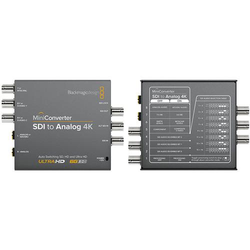 Blackmagic Design Mini Convertor SDI la Analog 4K [1]