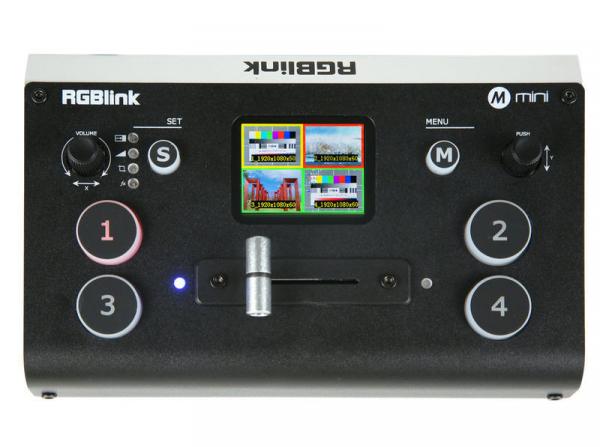 RGBlink Mini Mixer video cu vizualizare multi-view [0]
