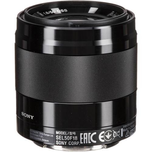 Sony E 50mm f/1.8 OSS Obiectiv APS-C 1