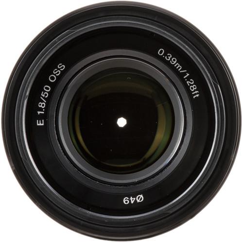 Sony E 50mm f/1.8 OSS Obiectiv APS-C 2