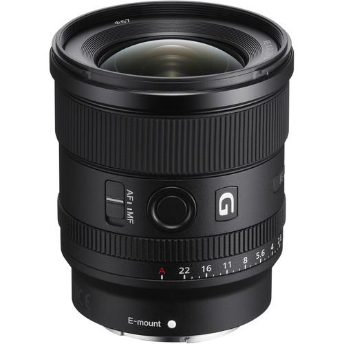 Sony 20mm Obiectiv Foto Mirrorless F1.8 G Ultra-Wide FE [0]