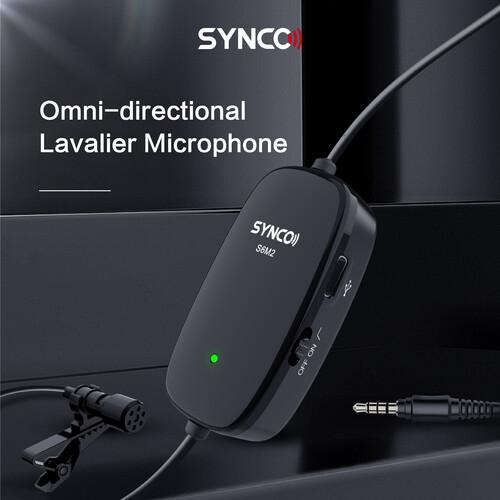 Synco Lav-S6M2 Lavaliera cu monitorizare Real-Time si Gain Control [4]