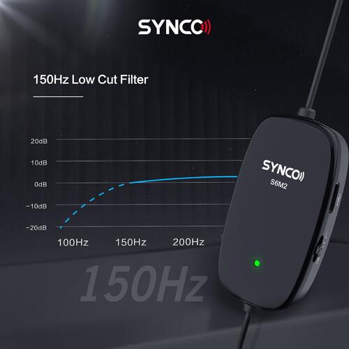 Synco Lav-S6M2 Lavaliera cu monitorizare Real-Time si Gain Control [5]