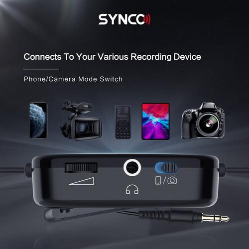 Synco Lav-S6M2 Lavaliera cu monitorizare Real-Time si Gain Control [9]