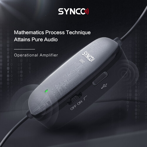 Synco Lav-S6M2 Lavaliera cu monitorizare Real-Time si Gain Control [12]