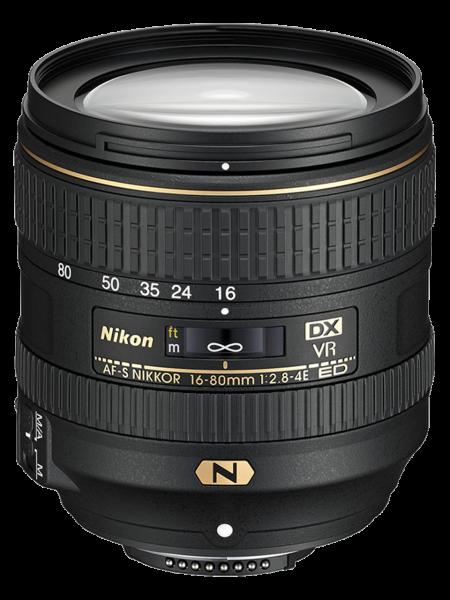 Nikon AF-S DX NIKKOR 16-80mm Obiectiv Foto DSLR f/2.8-4E ED VR 0
