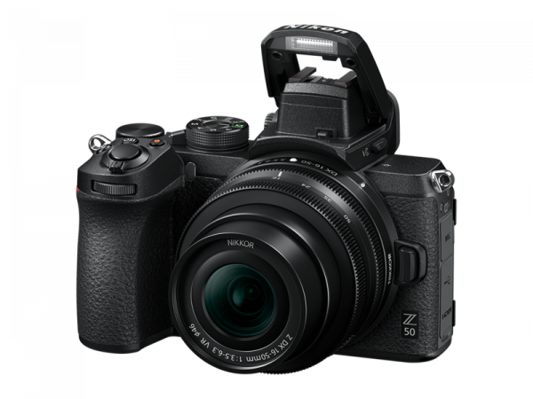 Nikon Z50 Aparat Foto Mirrorless 21MP Kit cu Obiectiv Nikkor Z DX 16-50mm f/3.5-6.3 VR 3