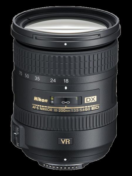 Nikon AF-S DX NIKKOR 18-200mm f/3.5-5.6G ED VR II 0