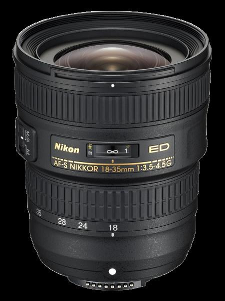Nikon AF-S NIKKOR 18-35mm Obiectiv Foto DSLR f/3.5-4.5G ED [0]