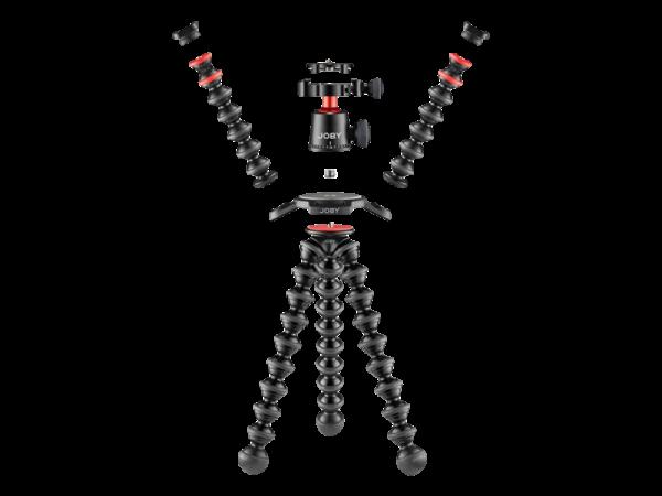 Joby GorillaPod 3K PRO Rig Kit Vlog cu LED si Microfon 3