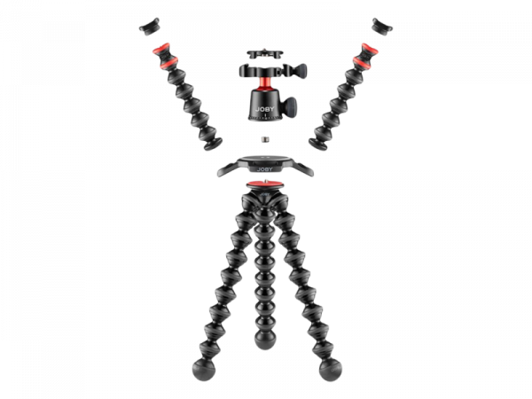 Joby GorillaPod 3K PRO Rig Kit Vlog cu 2 LED si Microfon 1