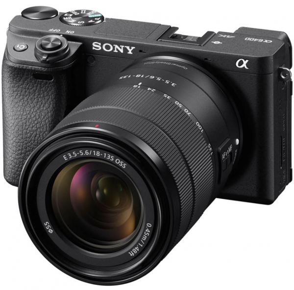 Sony Kit Aparat Foto Mirrorless Alpha A6400  24.2 MP cu Obiectiv 18-135mm 1