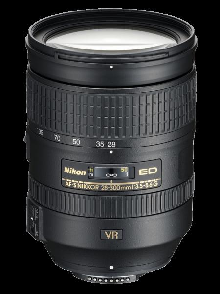 Nikon AF-S NIKKOR 28-300mm Obiectiv Foto DSLR f/3.5-5.6G ED VR [0]