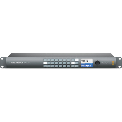 Blackmagic Design Smart Videohub 20 x 20 6G-SDI router VHUBSMART6G2020 0