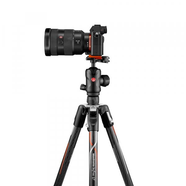 Manfrotto Befree GT Alfa Trepied foto carbon 4