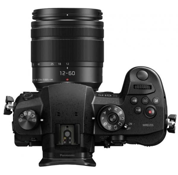 Panasonic Kit Aparat Foto Mirrorless Lumix GH5 cu Obiectiv Lumix 12-60mm f/3.5-5.6 G Vario Power O.I.S [2]