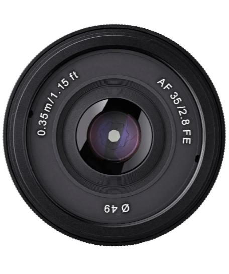 Samyang Obiectiv Foto 35mm Mirrorless F2.8 AF Montura Sony FE 1