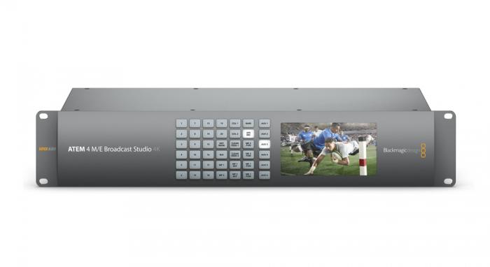 Blackmagic Design ATEM 4 M/E Broadcast Studio Switcher 4K 0
