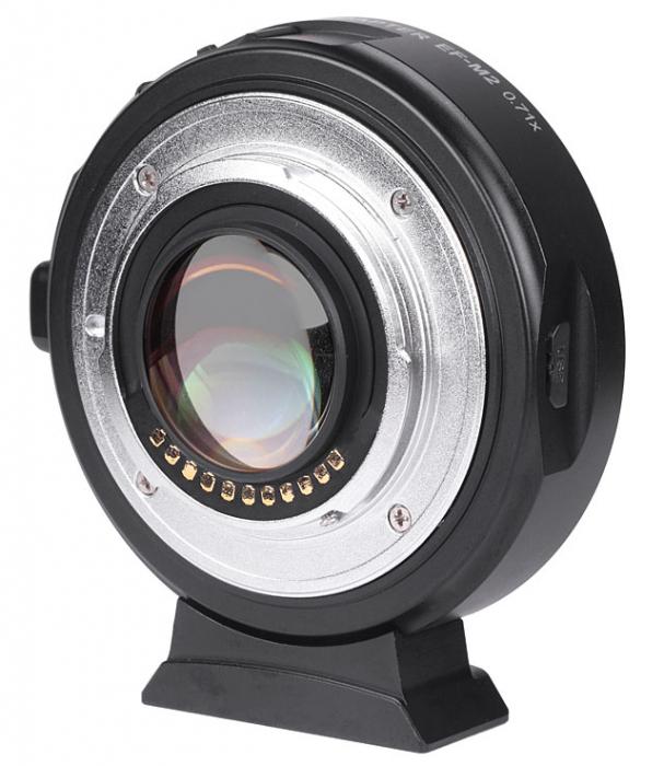 Viltrox EF-M2 II 0.71x SpeedBooster Mount Adapter For Canon EF-Mount Lens To MFT Camera [1]