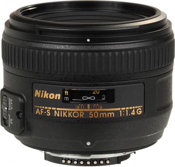 Nikon 50mm f/1.4G - Obiectiv AF-S NIKKOR 0