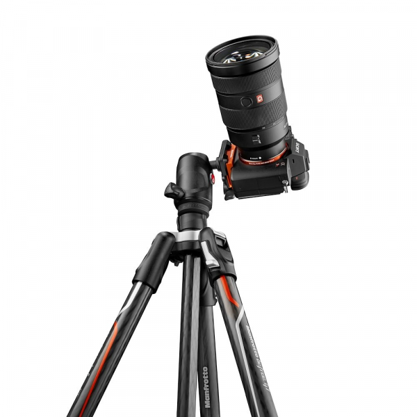 Manfrotto Befree GT Alfa Trepied foto carbon 6