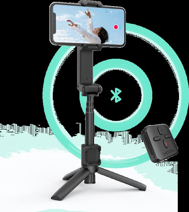 Moza Nano-SE negru Stabilizator Selfiestick pentru smartphone [4]