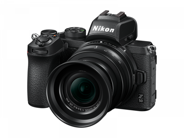 Nikon Z50 Aparat Foto Mirrorless 21MP Kit cu Obiectiv Nikkor Z DX 16-50mm f/3.5-6.3 VR 7