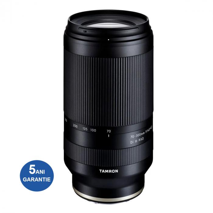 Tamron 70-300mm F4.5-6.3 RXD III Obiectiv Foto Mirrorless Sony E 0
