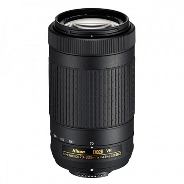 Pachet Nikon 70-300mm f4.5-6.3G ED VR AF-P+Manfrotto Filtru UV Slim 58mm 0