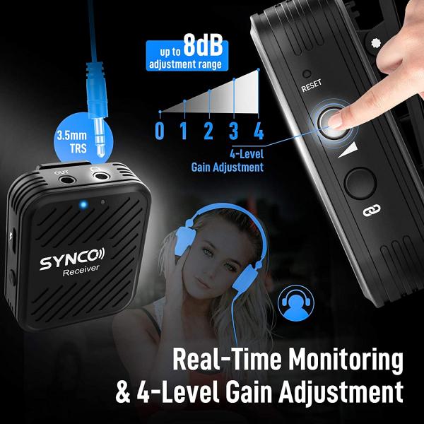 Synco G1 Lavaliera Wireless compact 9