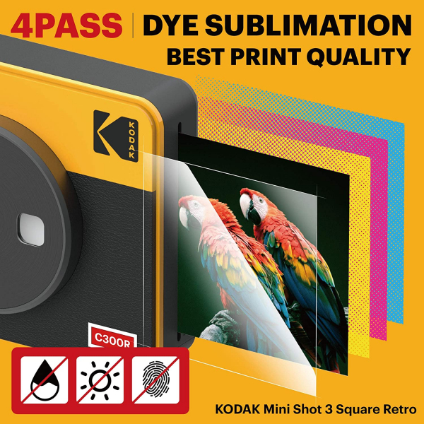Kodak MiniShot Combo Retro camera foto instant si imprimanta 7