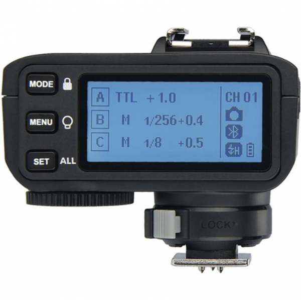 Godox X2T-C TTL Transmitator Wireless dedicat Canon 1