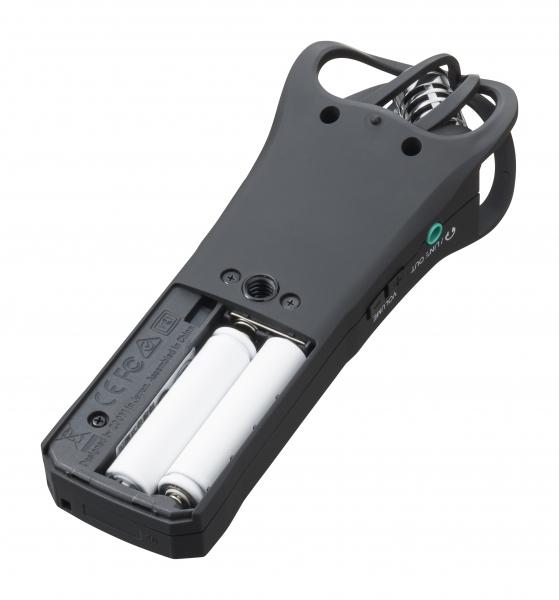 Zoom H1n 2 intrari reportofon portabil cu microfoane built-in X/Y (Negru) [7]