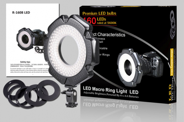 Tolifo Ring Light Led lampa circulara Macro 5