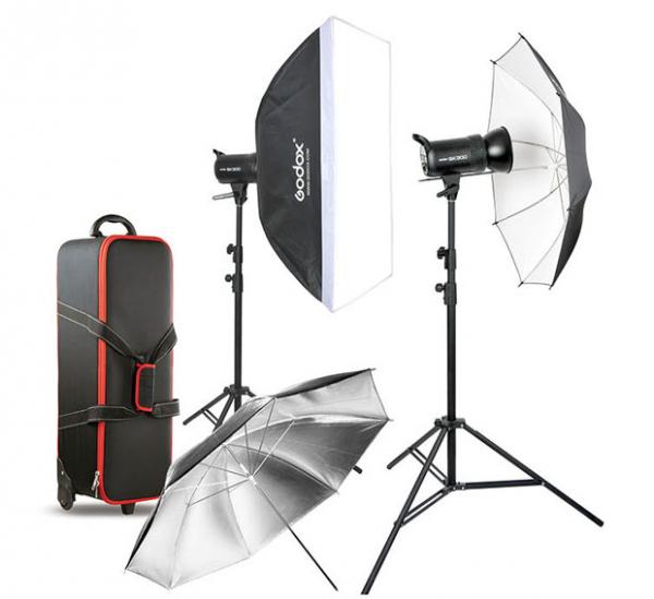 Godox Kit de Blitz-uri foto 2x400W 0