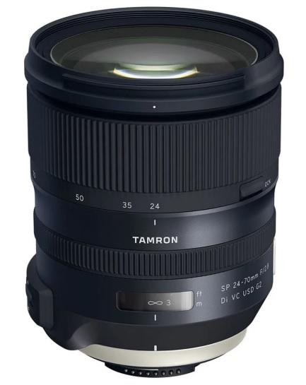 Tamron Obiectiv Foto DSLR 24-70mm F/2.8 SP VC USD G2 Montura Nikon 0