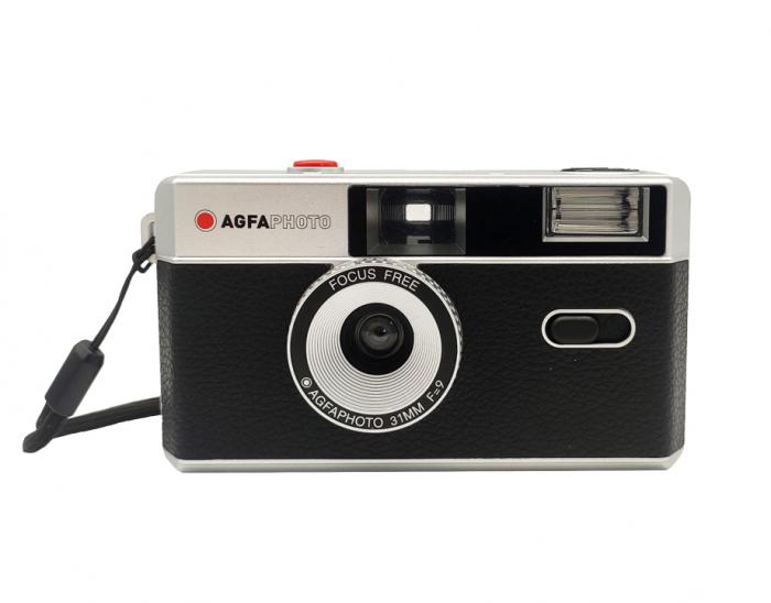 AgfaPhoto Aparat pe film 35mm reutilizabil negru [0]