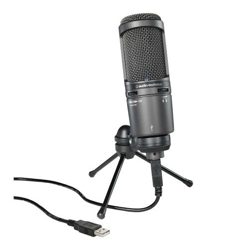 Pachet Audio-Technica AT2020USB+ Microfon USB + Brat prindere microfon 0