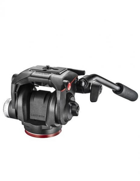 Manfrotto MHXPRO-2W Fluid cap trepied video 4