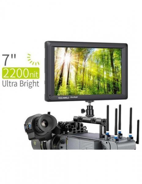 FeelWorld Monitor 7 Inch Ultra Bright 1920x1200 4K SDI/HDMI Input Output 0